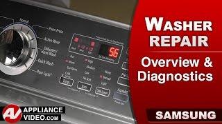 Samsung  Washer - Overview & Diagnostics & Error codes Video