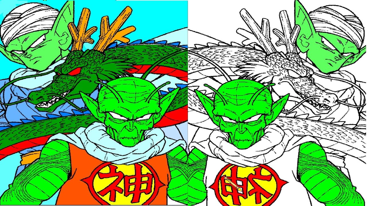dragon ball coloring pages dragon ball coloring book youtube
