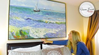 How to Hang a Picture | Huge Canvas or Small - with or without Frame |  iCanvas