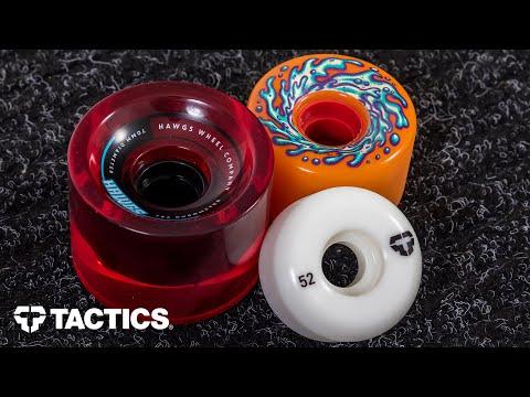 Types of Skateboard Wheels | Skateboard Buying Guide | Tactics