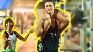 Asking Girls to Spot Me Prank! (Lifting Another Girl) | Connor Murphy