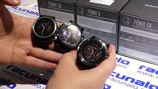 Garmin Fenix 5S - Fenix 5 - Fenix 5X - video recenzija (21.04.2017)