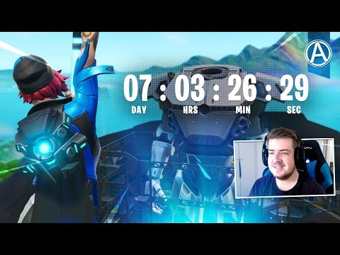 ROBOT vs POLAR PEAK MONSTER EVENT Countdown! // Use Code: byArteer (Fortnite Battle Royale LIVE)