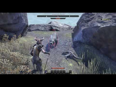 Elder Scrolls Online Blackwood Use New Mount |