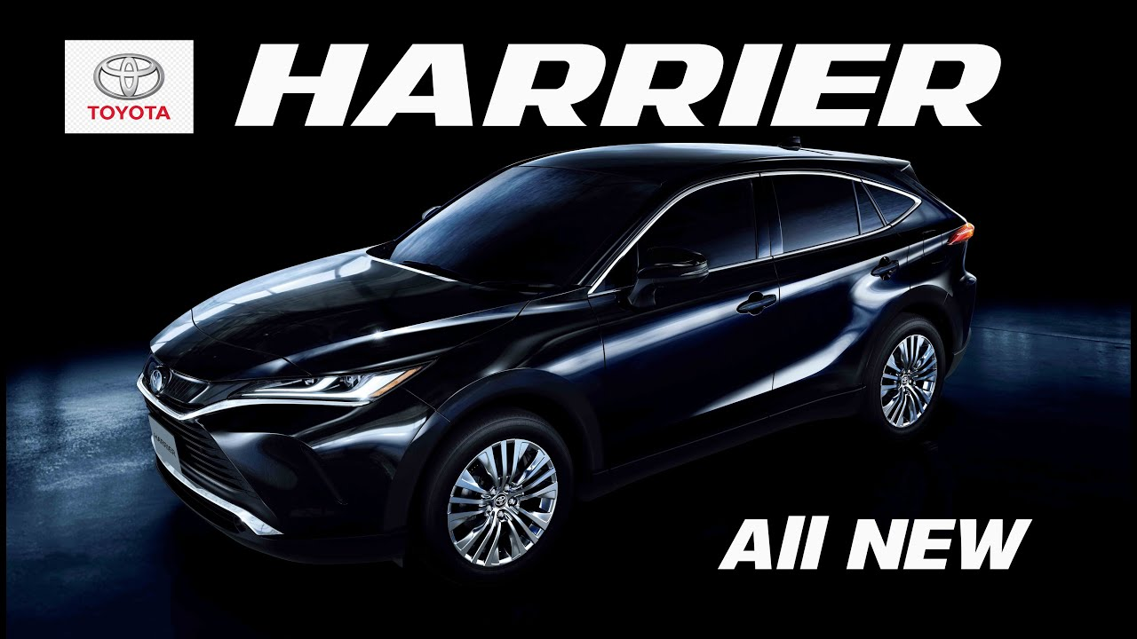 All New Toyota Harrier Fisrt Look 2020/2021 - Exterior and ...