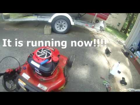 How to troubleshoot lawn mower when it won't stay running? Part 2 of 2