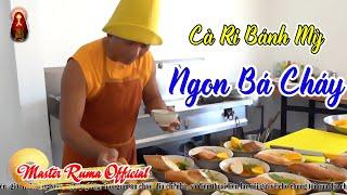 Minh Sư Ruma vào bếp Trổ Tài nấu món Cà Ri bánh mỳ Ngon Bá Cháy