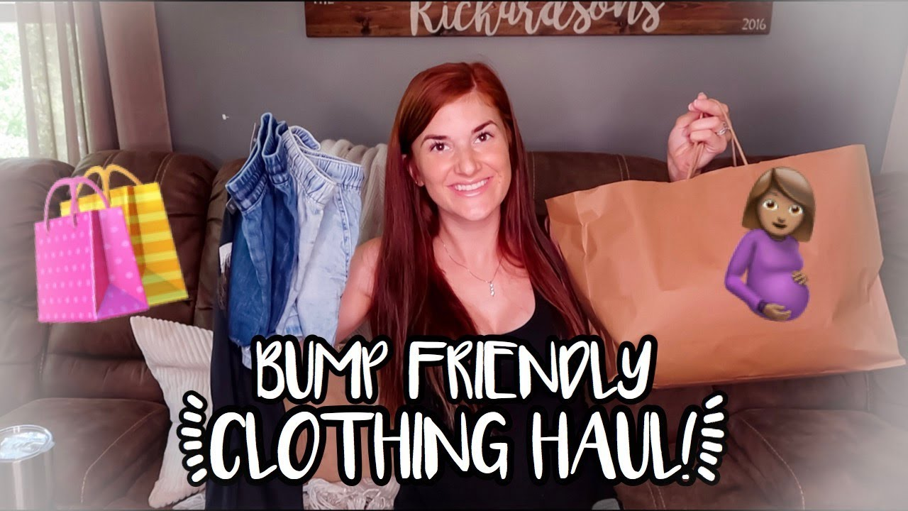 [VIDEO] - SUMMER CLOTHING TRY ON HAUL! | BUMP FRIENDLY OUTFITS 2