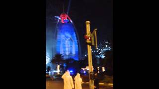 Fireworks in Dubai at Burj Al Arab- National day 2 of December