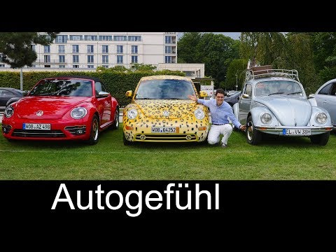 VW Beetle comparison old vs new 3 generations FULL REVIEW Volkswagen Käfer