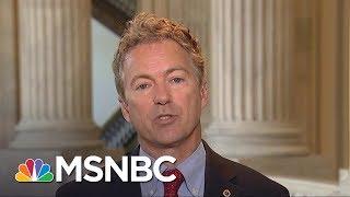Rand Paul: Health Care Was Broken Before The ACA | Morning Joe | MSNBC