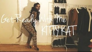 Get Ready With Me - KITTY KAT MAKE UP + OUTFIT | AnnieDreaXO Thumbnail