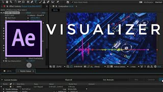 How to Create Music Visualizer | Audio Spectrum in After Effects Tutorial 2018