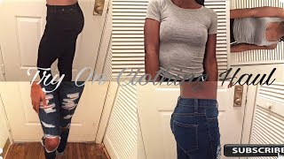 Mini Try On Clothing Haul ft Steve Madden, Fashion Nova, PLT + More!!