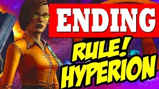 Tales from the Borderlands Episode 4 ENDING CHOICE RULE HYPERION / Escape Plan Bravo Ending