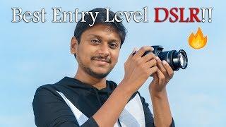 Canon EOS 200D/Rebel SL2 Unboxing | Best Entry Level DSLR 2017!!