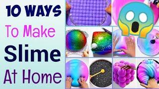 10 Diy Slime Recipe  How to make slime at home 10 Easy Way to Make SlimeSlime Making Slime Asmr