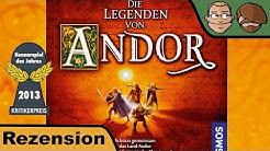Die Legenden von Andor (Kennerspiel des Jahres 2013) - Brettspiel Test - Spiel - Rezension # 57