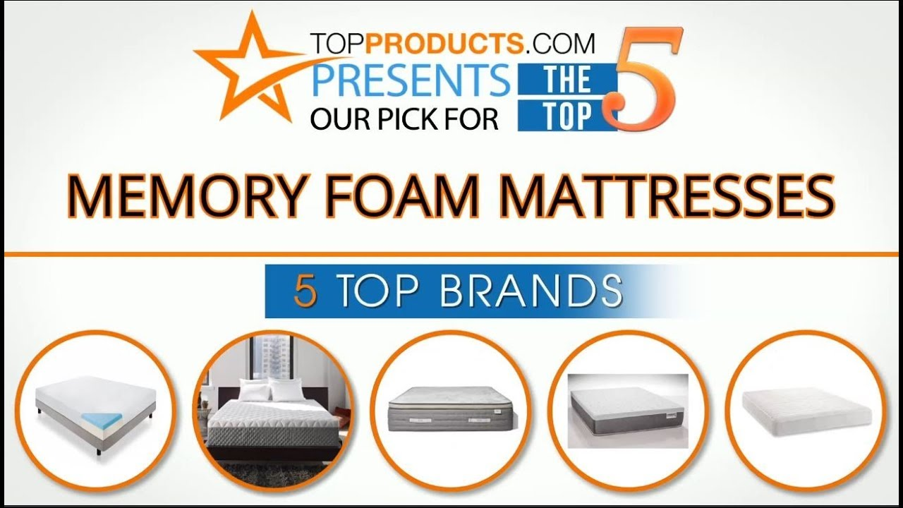 Best Memory Foam Mattress Reviews 2017 How To Choose The