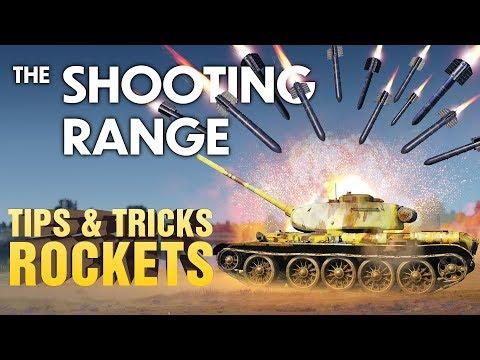 THE SHOOTING RANGE #189: Tips & Tricks — Rockets / War Thunder