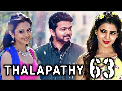 BREAKING : Heroine for Vijay in Thalapathy 63 revealed ? Thalapathy Vijay | Atlee | SARKAR