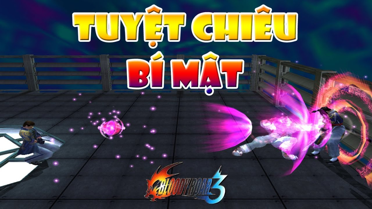 Tất cả tuyệt chiêu Bloody Roar 3 (Tuyệt chiêu bí mật của Shina và Busuzima)