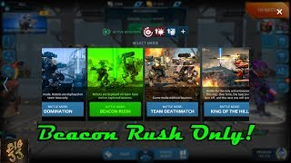 Beacon Rush Only (Day 3)! YAAAAAS! - War Robots - BigJJ
