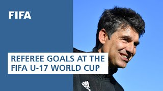 Referees goals at FIFA U17 World Cup 2019