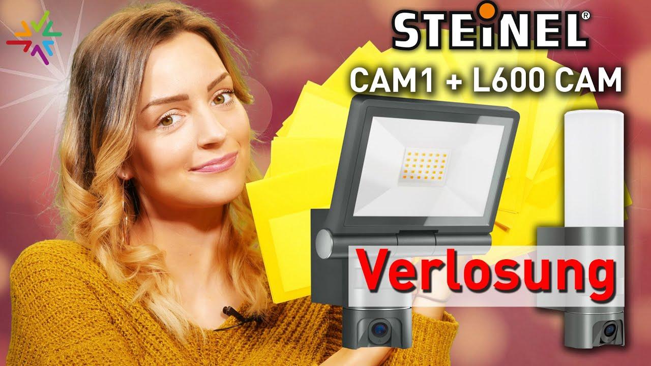 STEINEL LED-Außenleuchte mit Kamera XLED CAM 1 und L 600 Verlosung