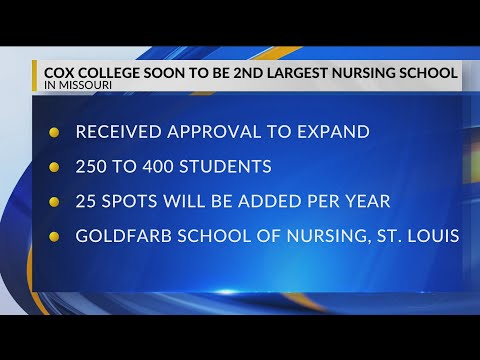 Cox College set to become Missouri's second largest nursing program