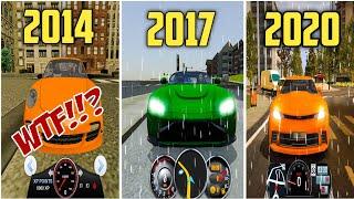 Evolution of Rain Logics In All OviLex Driving School Simulator Games 2014 - 2020 screenshot 5