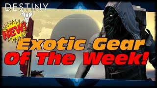 Destiny New Upgraded Exotic Gear Xur! Xur
