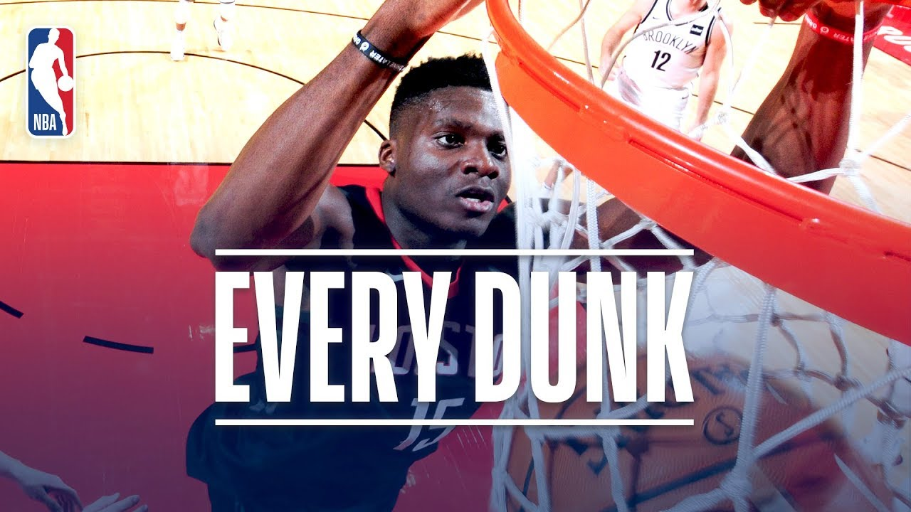 Andre Drummond, Vince Carter and Every Dunk From Monday ...