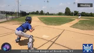 William Kasper College Baseball Showcase Video