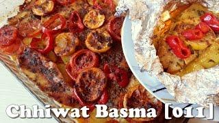 Chhiwat Basma [011] - Poissons avec des légumes au four طريقة تحضير السمك في الفرن