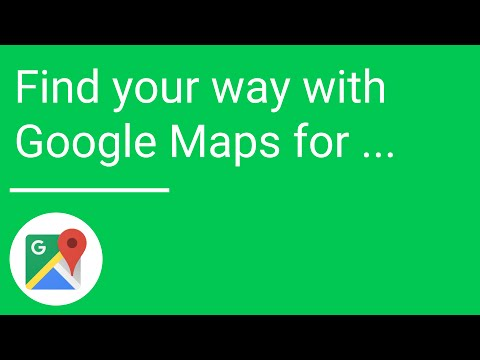 how to find way with google maps