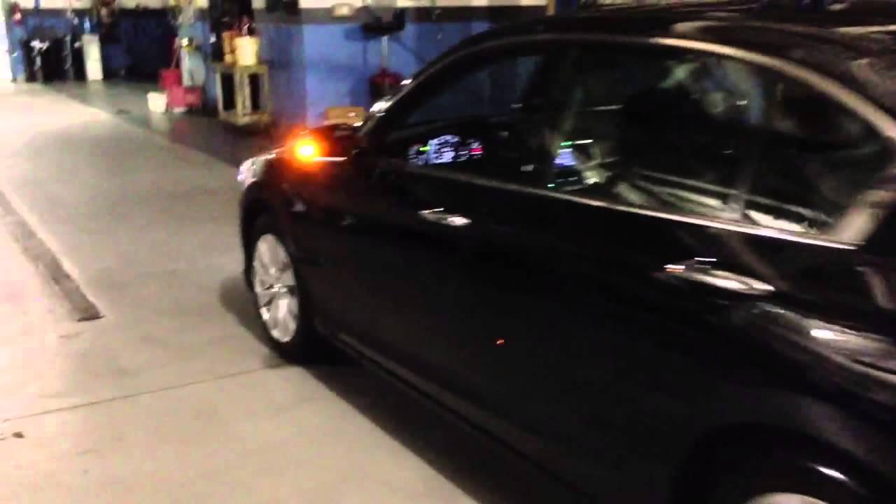 2010 Honda Accord Ex L V6 >> 2013 Honda Accord EX-L V6 - LED fast blinking turn signals - YouTube