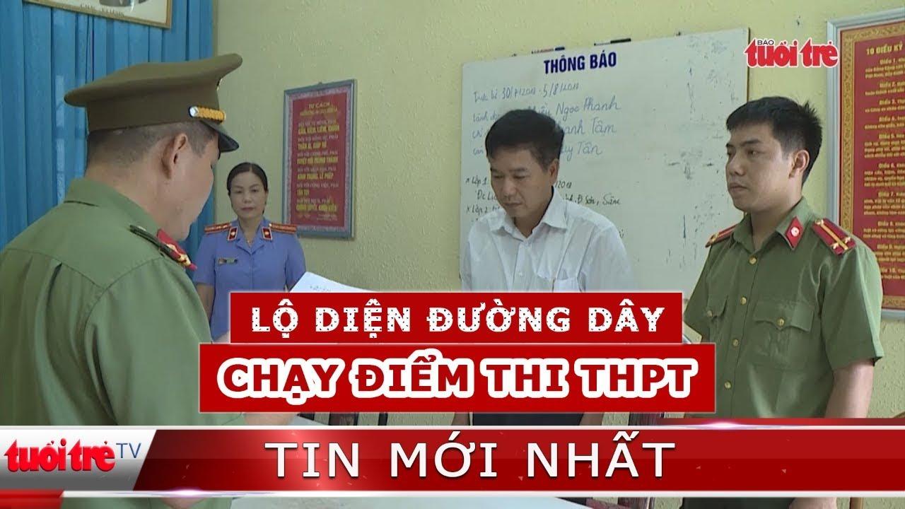 """⚡ NÓNG   Lộ diện đường dây """"chạy điểm"""" thi tốt nghiệp THPT tại Sơn La"""