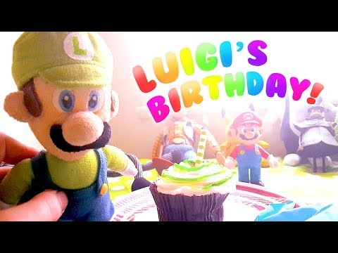Luigi's Birthday! - Cute Mario Bros.