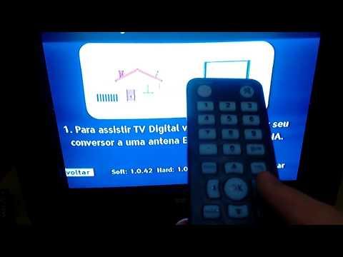 01 Como Sintonizar Canais com o Kit Conversor de Tv Digital do Governo