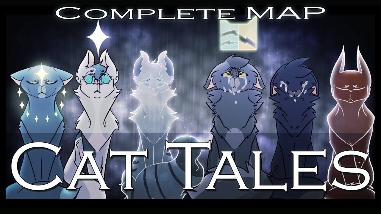 Warrior Cats Map Cat Tales   Warriors MAP COMPLETE   YouTube