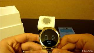 New Android Fossil Q Founder Smartwatch Unboxing / Video Review [HD]