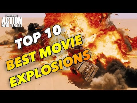Top 10 BEST EXPLOSIVE MOVIE SCENES
