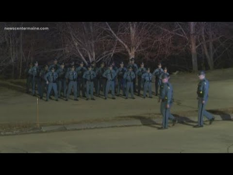 Maine Authorities Accompany Trooper's Body To Augusta