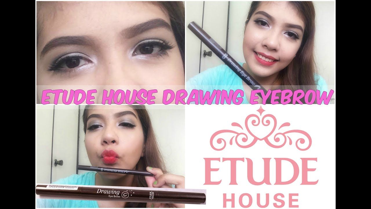 Etude House Drawing Eyebrow Review How To Daisy Youtube New Buy 1 Get