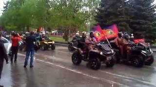 Автопробег в Волгограде 9 мая 2015 г.
