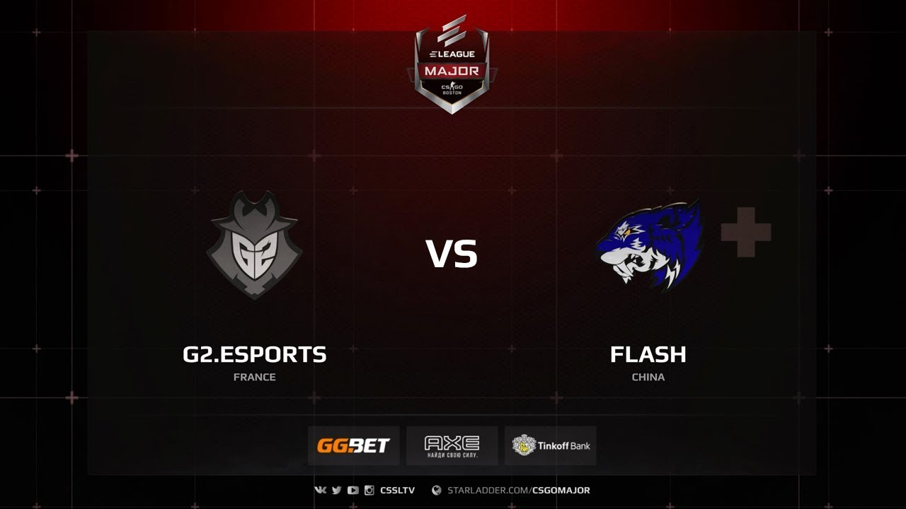 Flash vs G2, Main Qualifier, ELEAGUE Major: Boston 2018