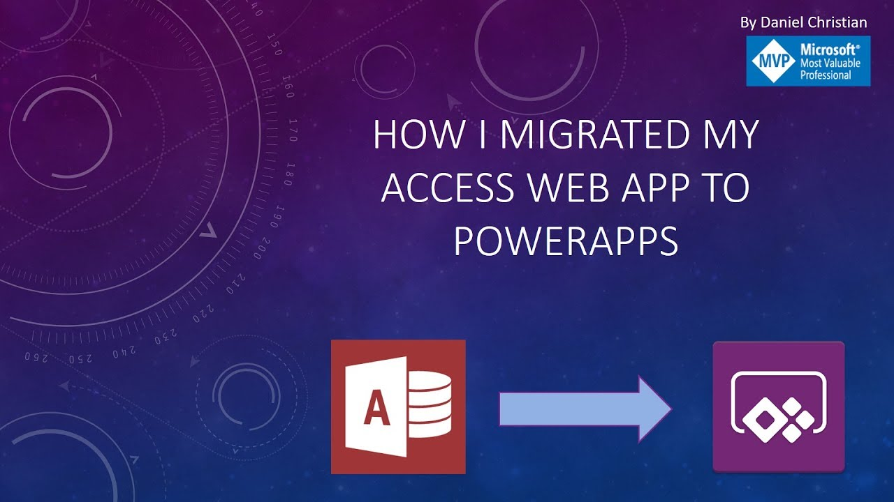 migrate access web apps to powerapps - part 1