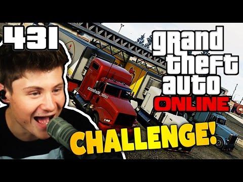 XL LASTWAGEN MIT VERKEHRSREGELN CHALLENGE! | GTA ONLINE #431   Let's Play GTA Online mit Dner