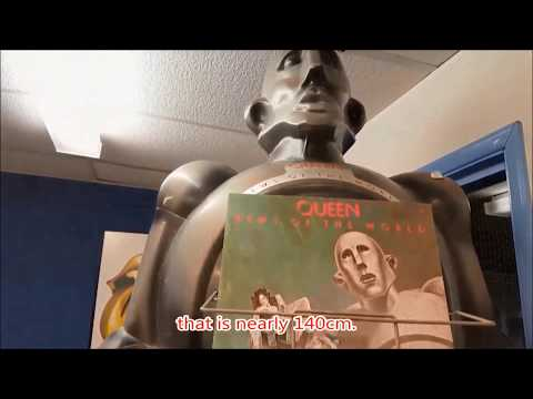 Queen News Of The World Robot -  watch the video